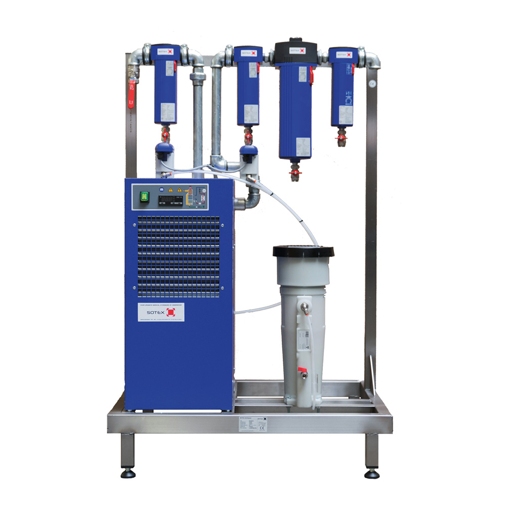 Sotex complete compressed air installations