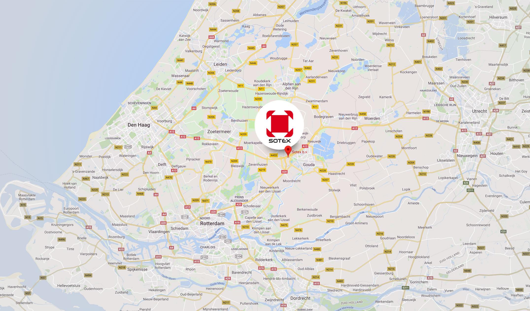 Sotex: Noordbaan 890, Moordrecht, Holland